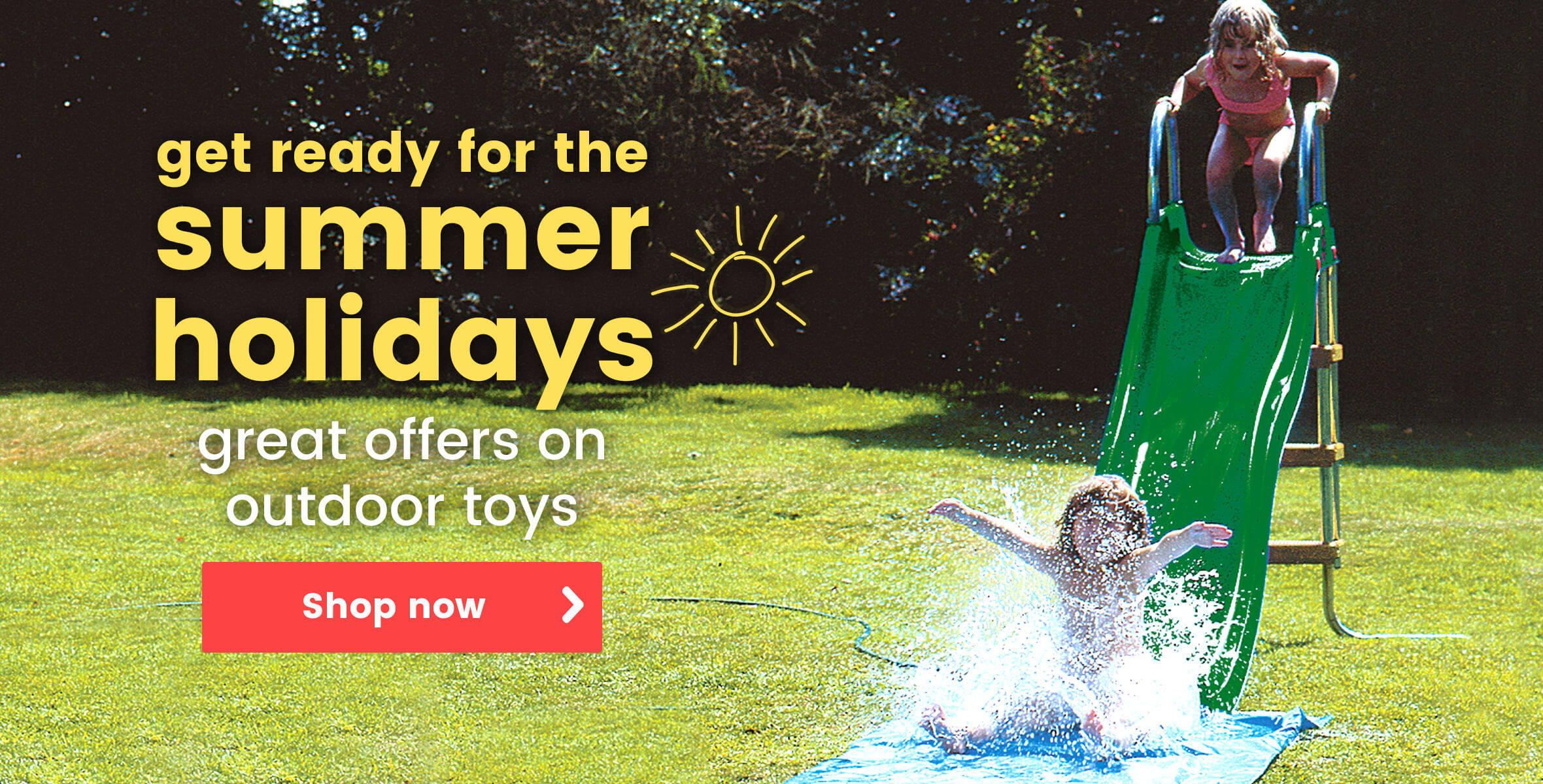 Great offers on outdoor toys