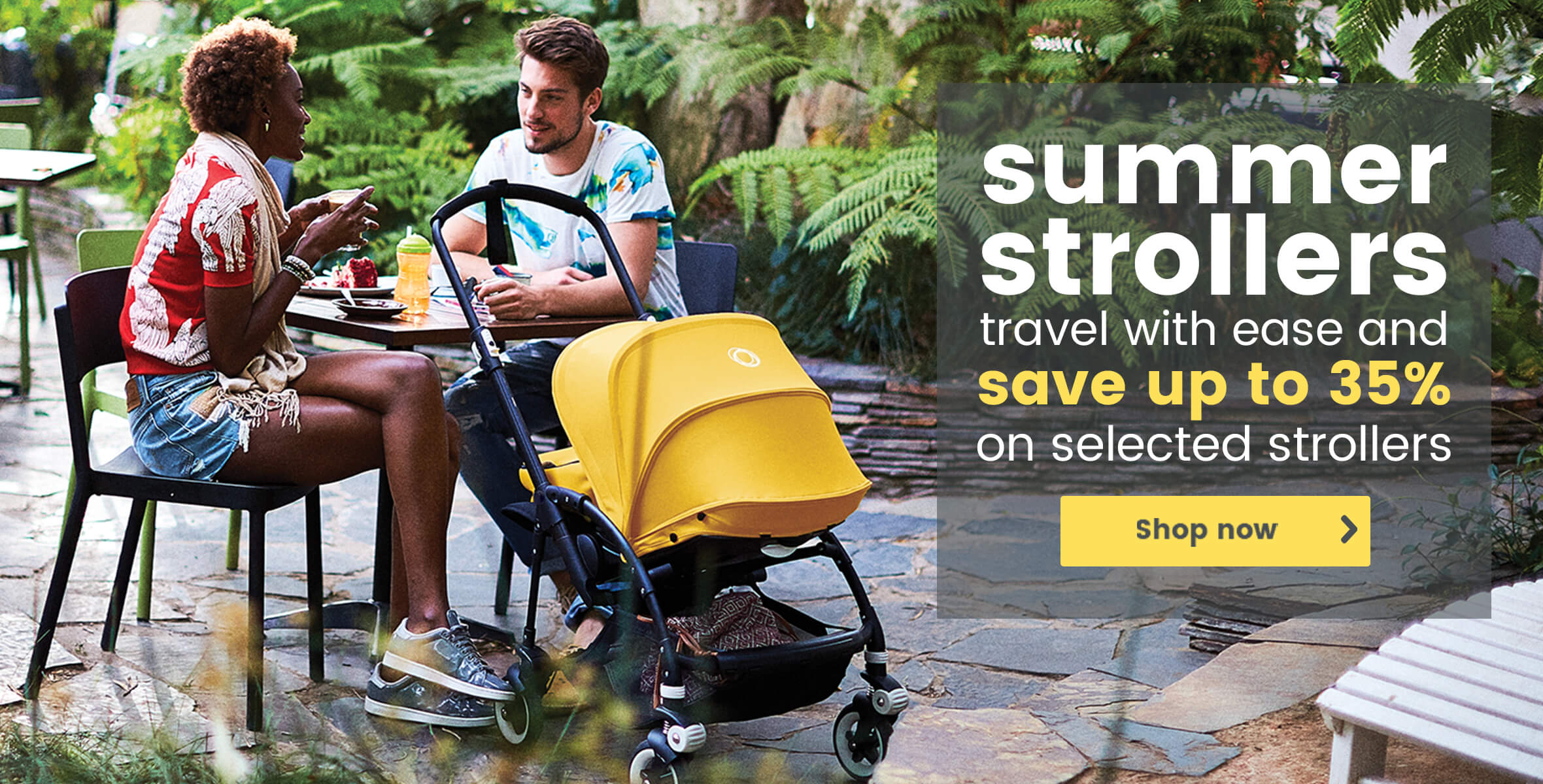 Save up to 34% on selected summer strollers