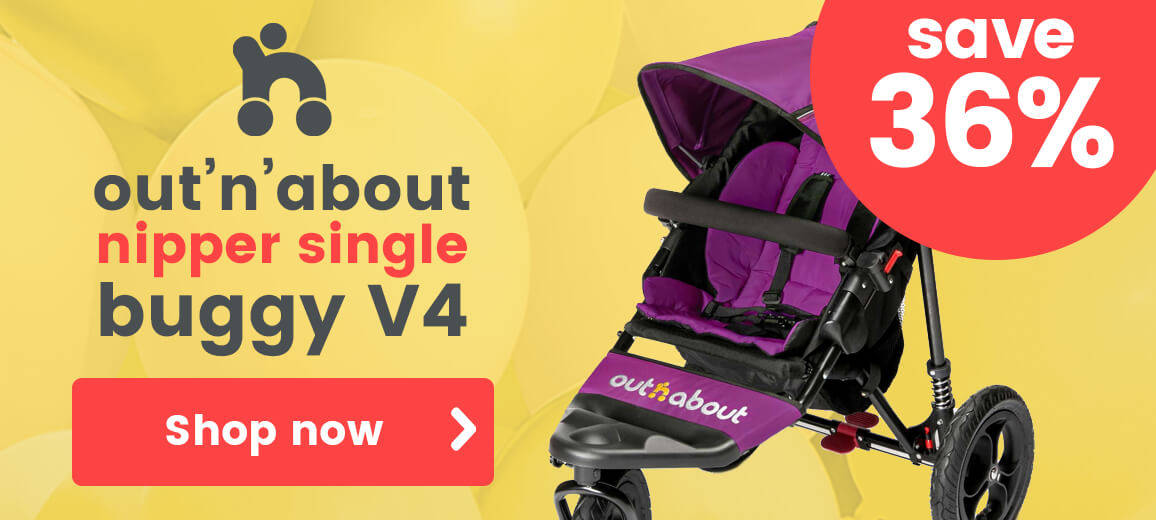 out'n'about nipper single buggy
