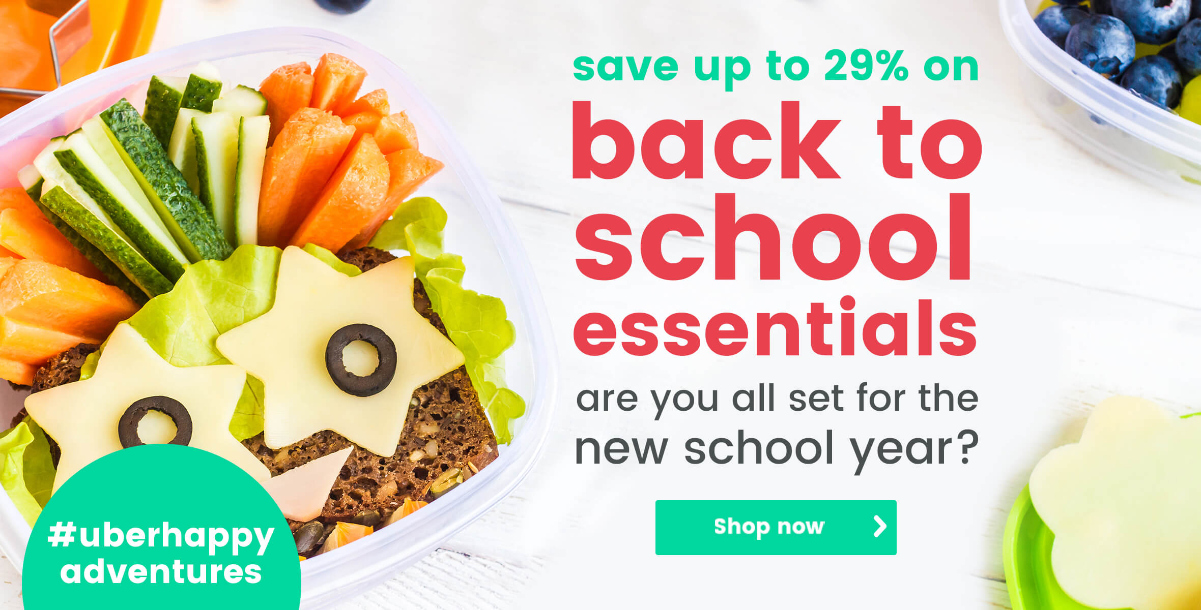 Save up to 29% on back to school essentials