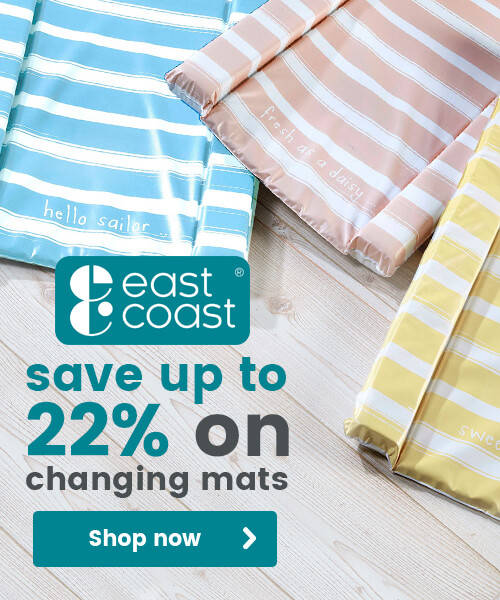 East Coast Nursery Changing Mats - Save up to 22%