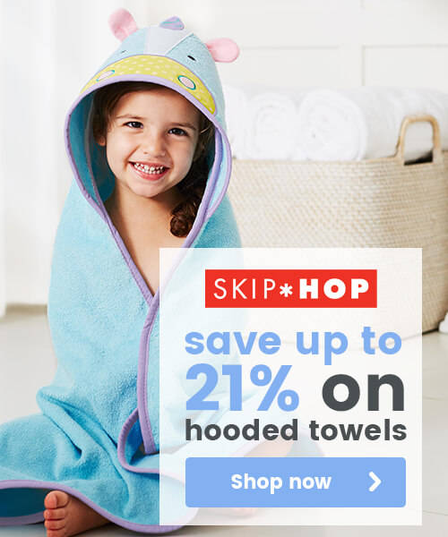 Skip Hop hooded towels
