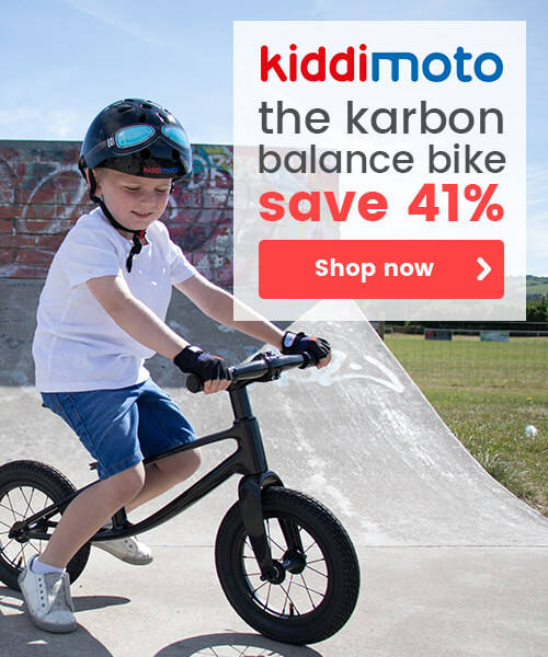 Kiddimoto The Karbon Balance Bike