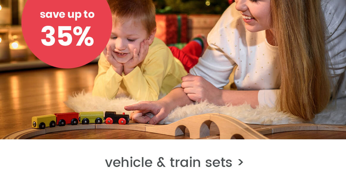 Vehicle & train sets