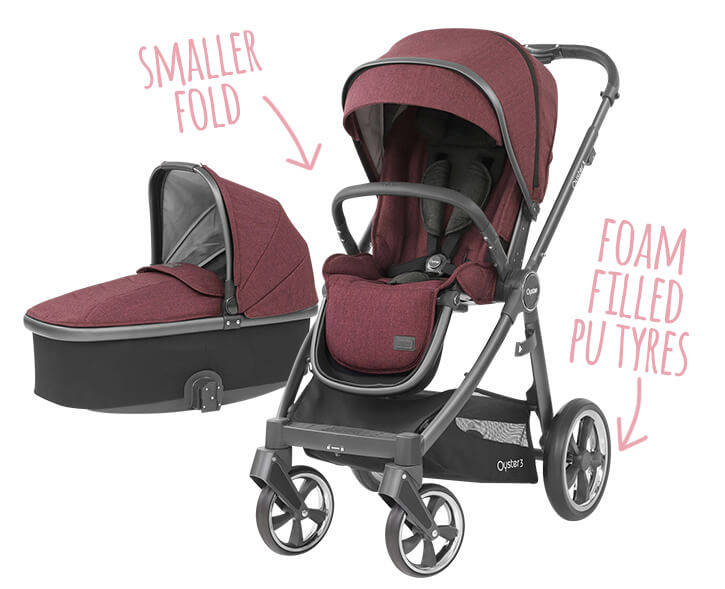 Babystyle Oyster 3 and Carrycot