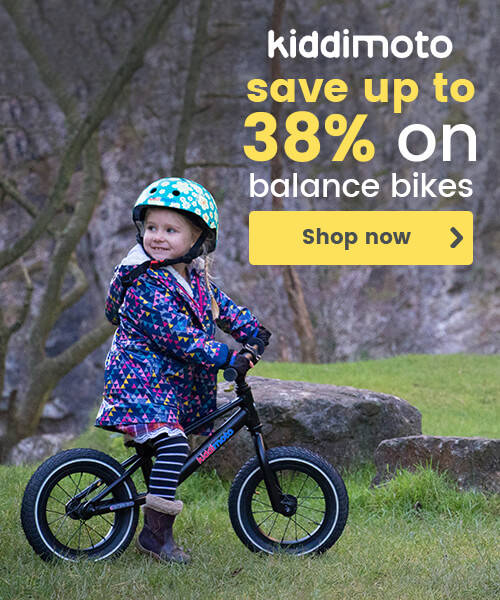 Kiddimoto balance bikes