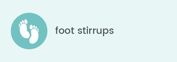 Foot stirrups