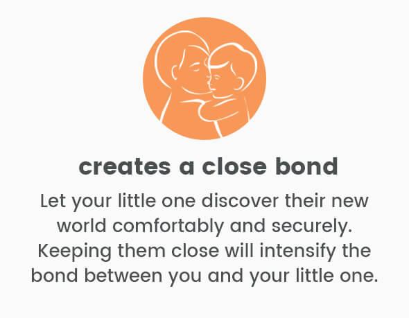 Creates a close bond
