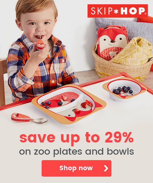 Skip Hop zoo plates and bowls