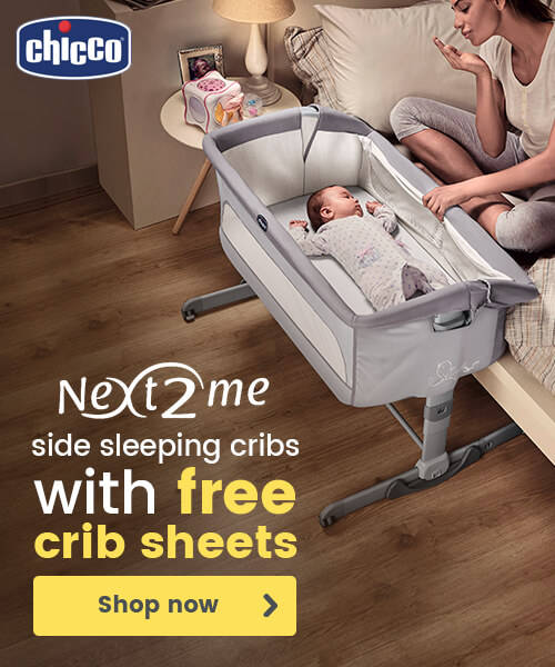 Chicco Next2Me side sleeping cribs