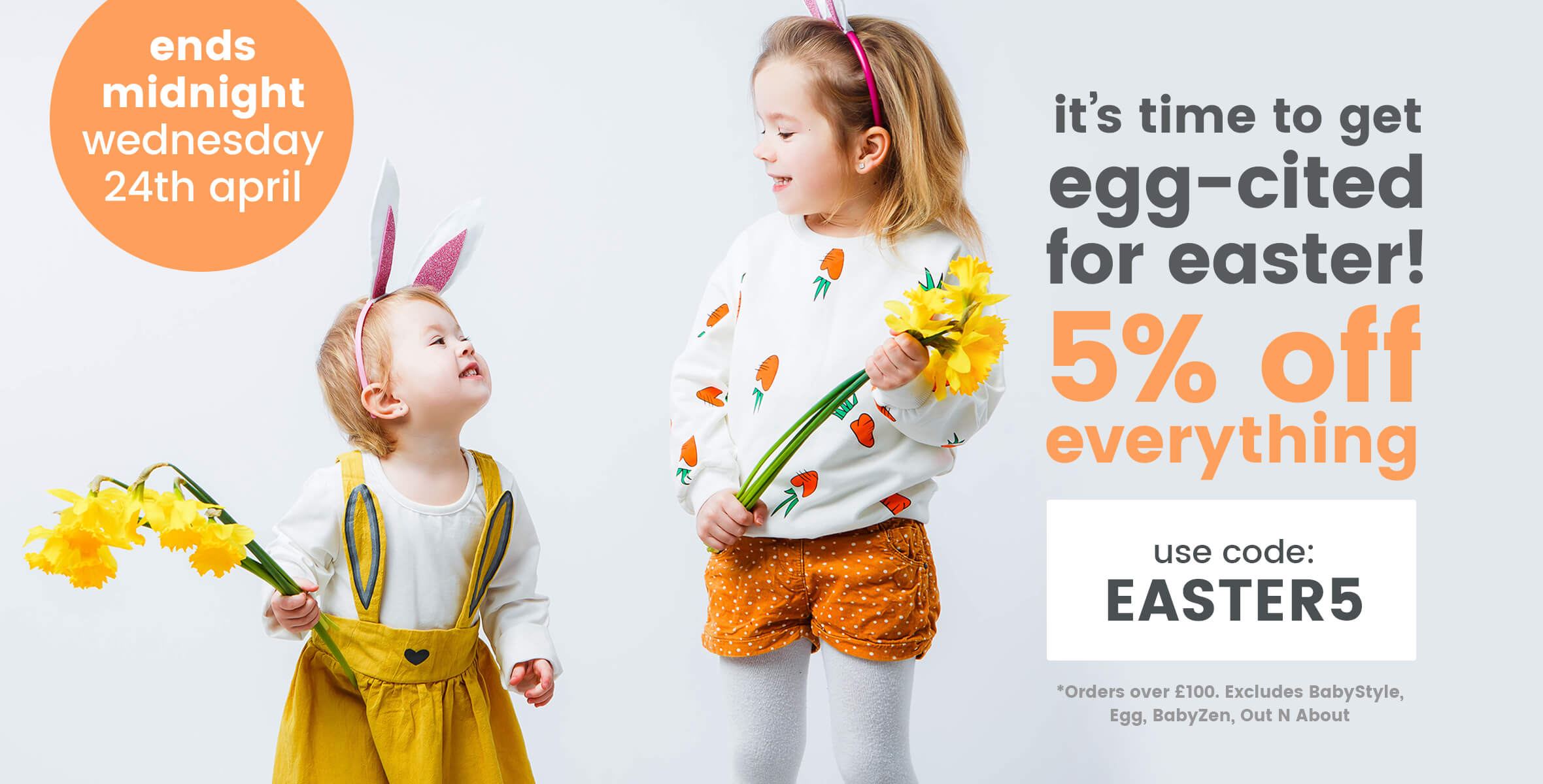 5% Off Everything - EASTER5