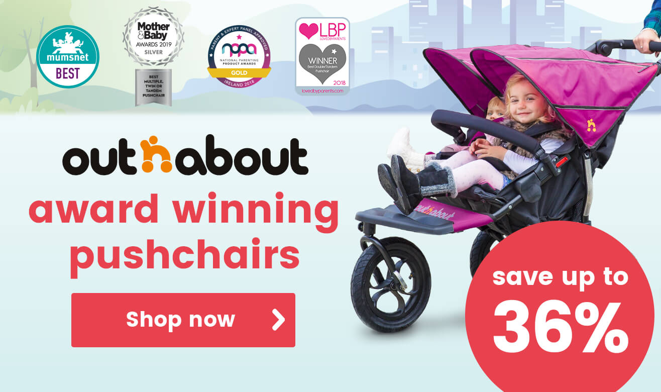 Save up to 33% on Out n About Pushchairs