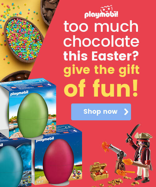 Easter gifts - Playmobil eggs