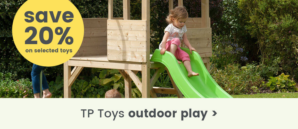20% off selected TP Toys outdoor play
