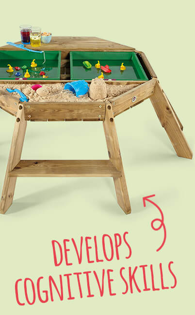 sandpits & water play