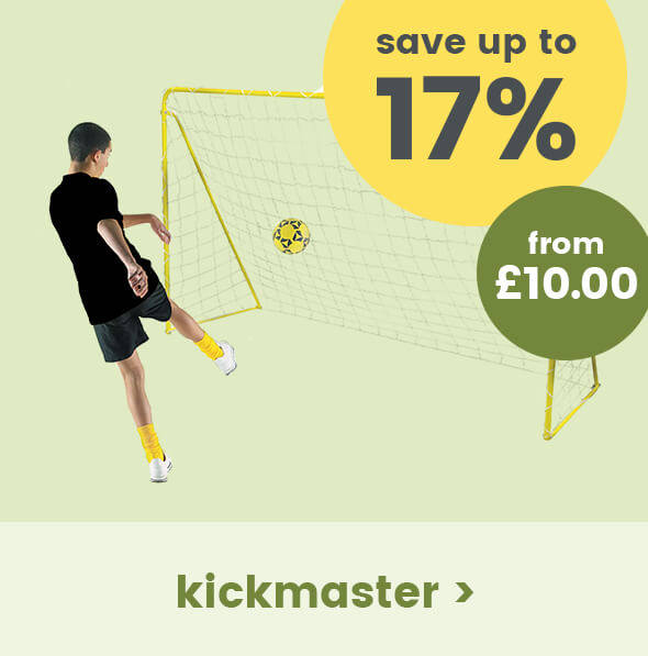 Save up to 17% on Kickmaster