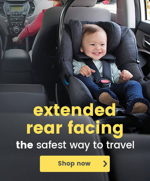 Extended rear facing - THE safest way to travel