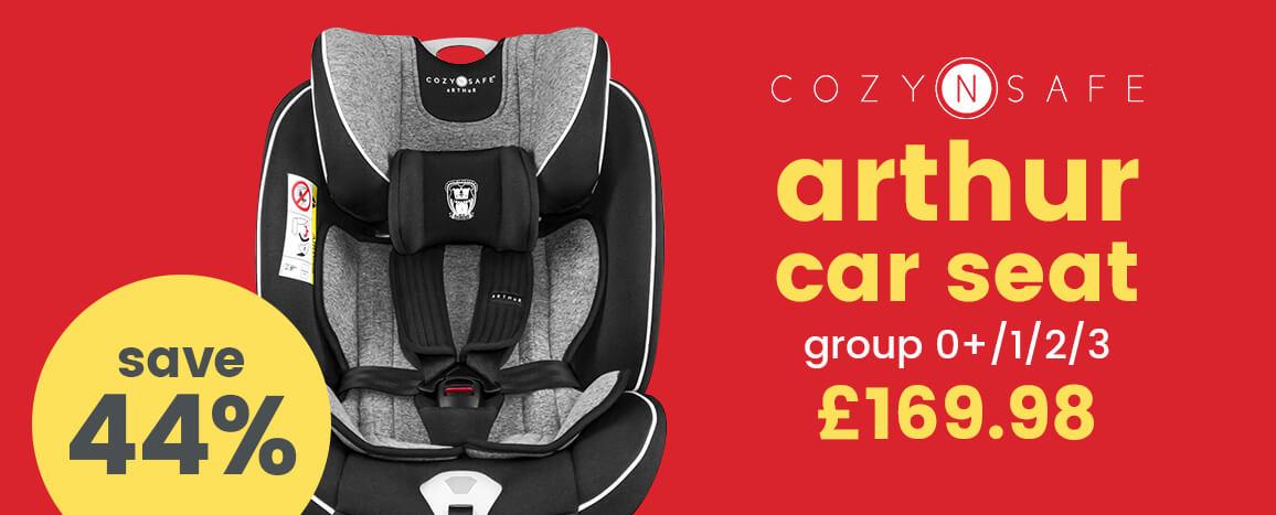 Cozy n Safe Arthur Group 0+/1/2/3 Car Seat