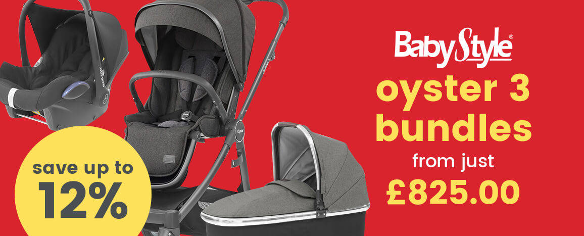 Babystyle Oyster 3 bundle