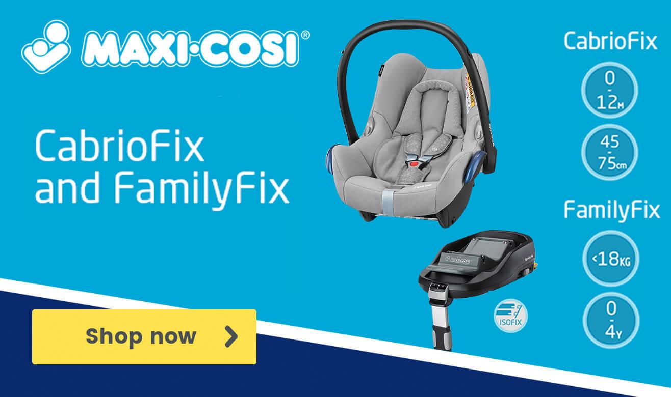 Maxi-Cosi CabrioFix and FamilyFix