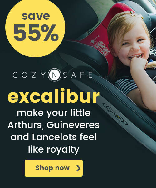 Cozy N Safe Excalibur Group 1/2/3 Car Seat