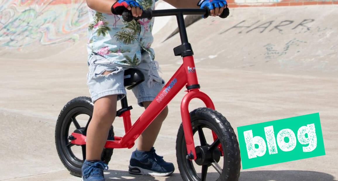 Ditch The Stabilisers For The Benefits Of Balance Bikes
