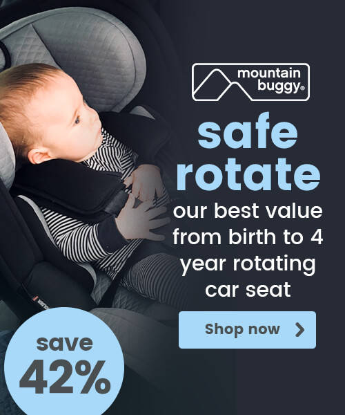Mountain Buggy Safe Rotate Group 0+/1 Car Seat