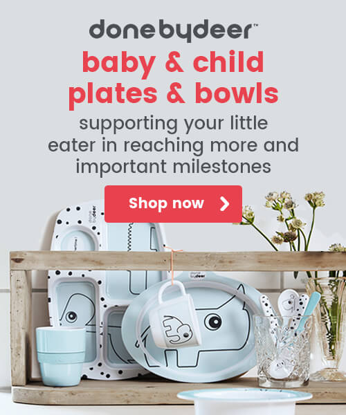 Done by Deer baby & Child Plates & Bowls