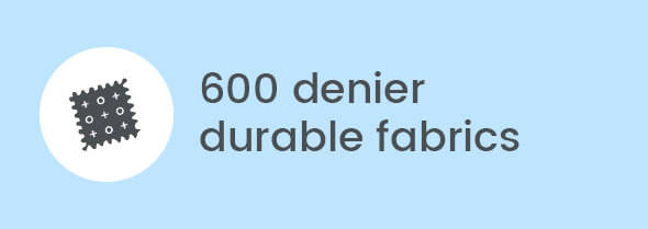 600 denier durable fabrics