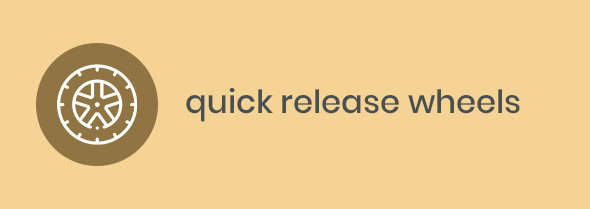 quick release wheels