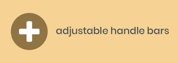 adjustable handle bars