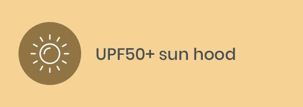 UPF 50+ hood
