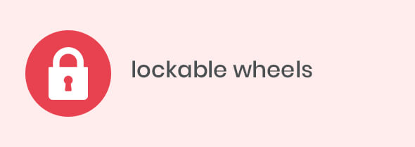 lockable wheels