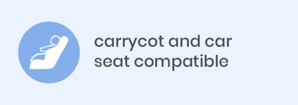 carrycot and car seat compatible