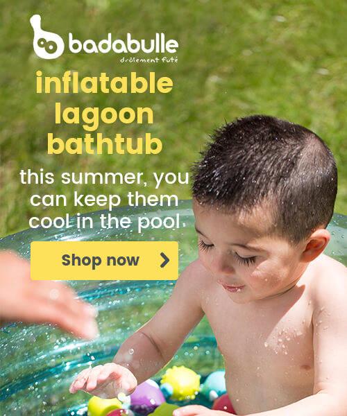 Badabulle Inflatable Lagoon Bathtubs