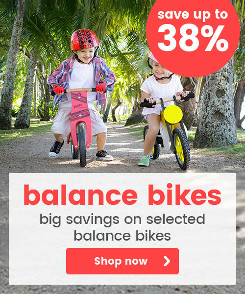 Big Savings on Balance Bikes