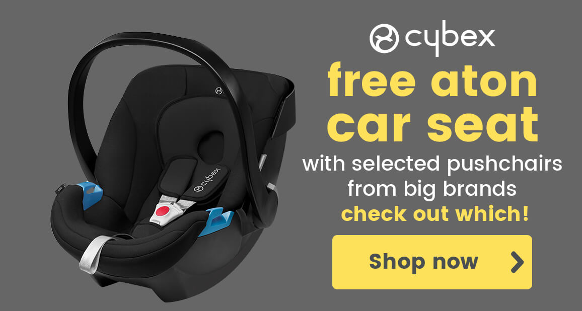 FREE Cybex car seat on selected pushchairs