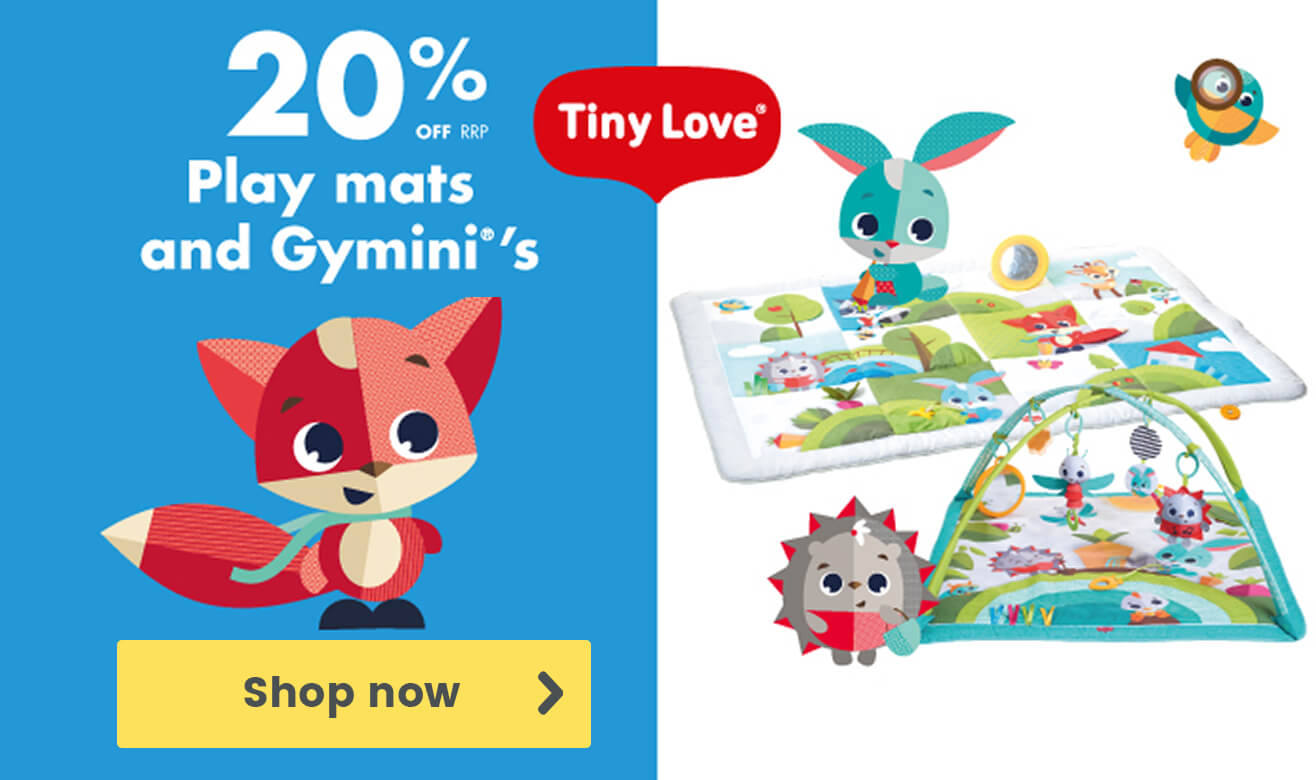 20% Off Tiny Love Play Mats and Gyminis