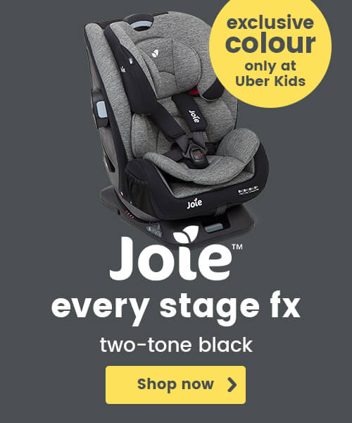 Joie Every Stage FX: Two-tone black