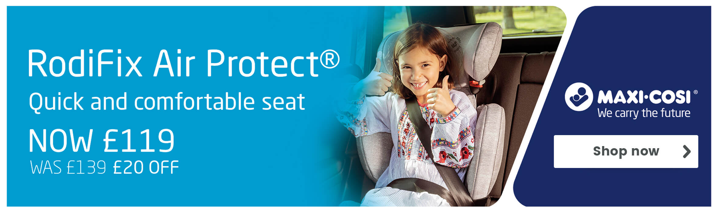 Maxi-Cosi Rodifix AirProtect Group 2/3 Car Seat
