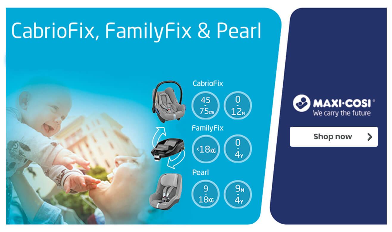 CabrioFix, FamilyFix & Pearl Bundle