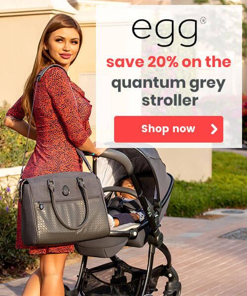 Quantum Grey Egg Stroller