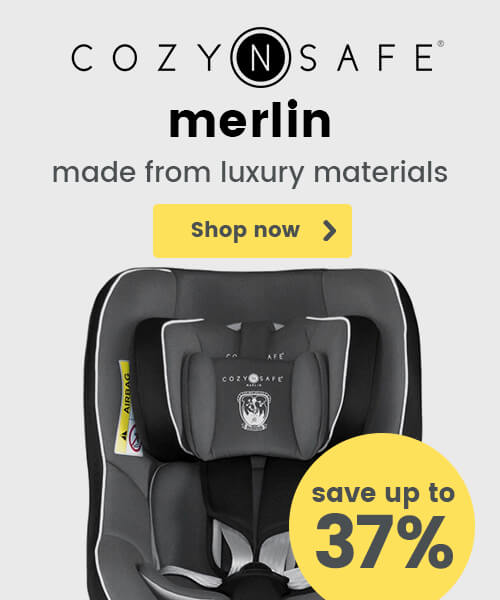Cozy N Safe Merlin - Made from luxury materials