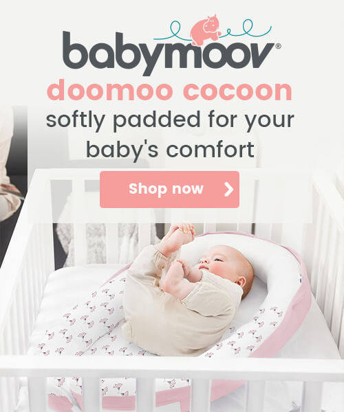 Babymoov Doomoo Cocoon - Softly padded for your baby's comfort