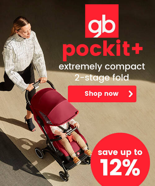 gb Pockit+ - Extremely compact 2-stage fold