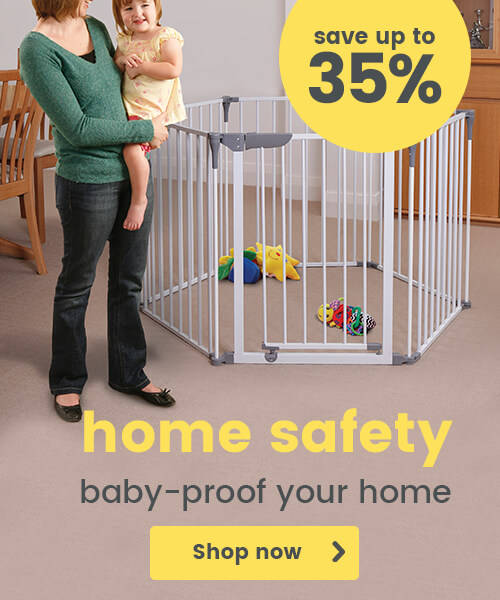Home safety - Baby-proof your home