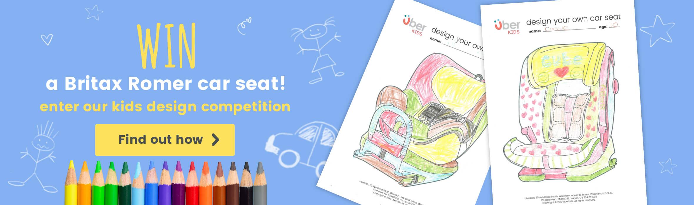 Win a Britax Romer Car Seat!