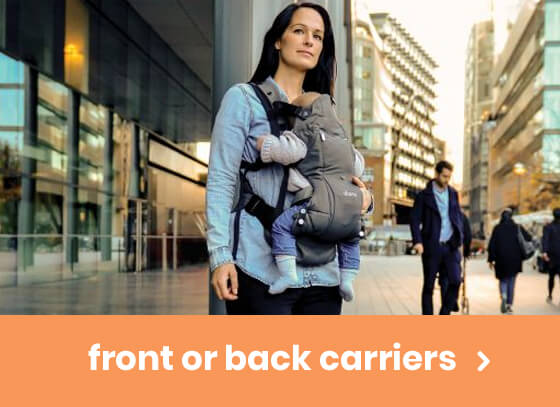 front or back carriers