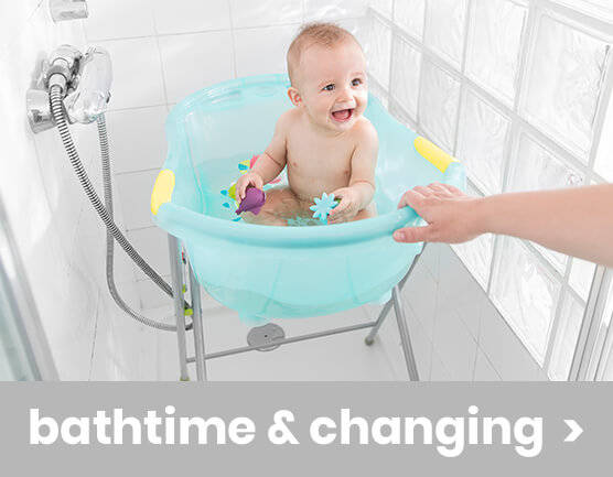 bathtime and changing