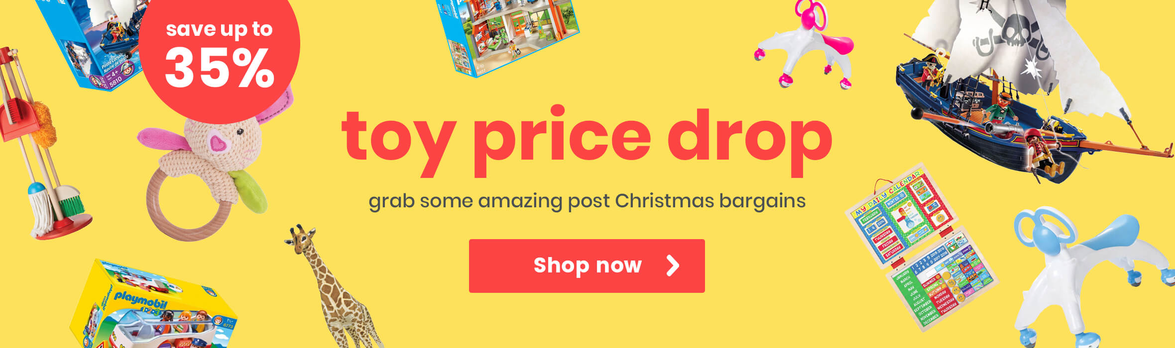 Toy Price Drop - Grab Some Amazing Post Christmas Bargains